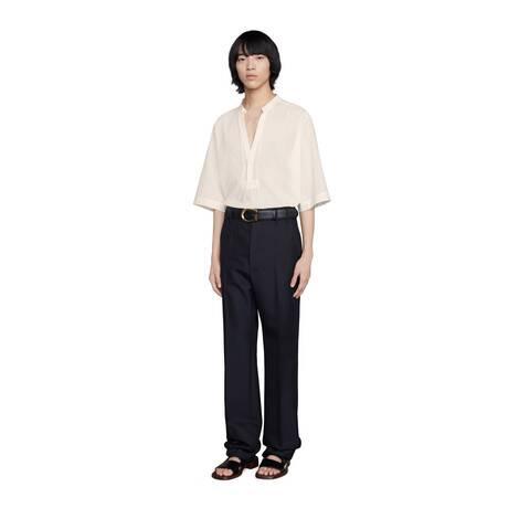 棉质宽松衬衫