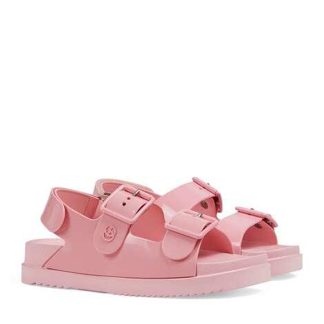 女士迷你双G凉鞋