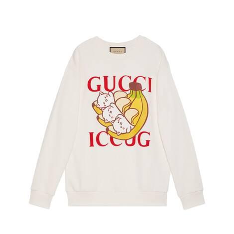 Bananya x Gucci联名系列卫衣