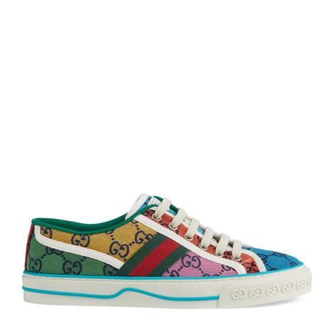 GG Multicolor系列Gucci Tennis 1977女士运动鞋