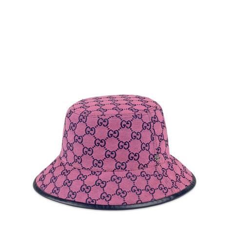 GG Multicolor系列帆布渔夫帽