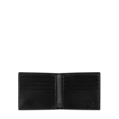 GG Marmont系列皮革双折钱包