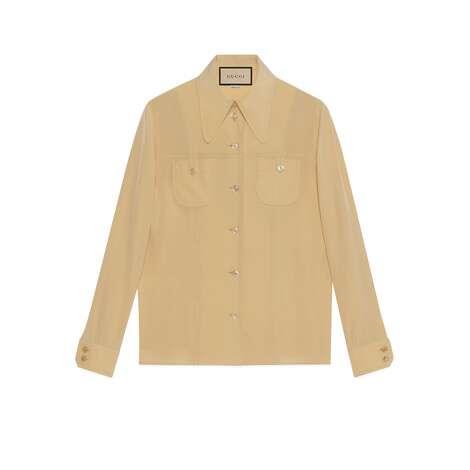 双绉真丝衬衫