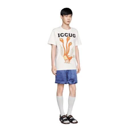 饰Freya Hartas创作的ICCUG动物印花T恤