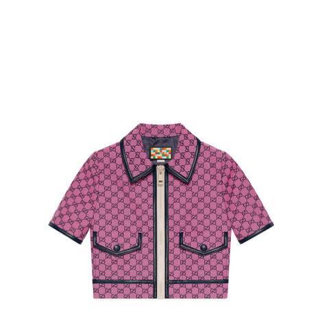GG Multicolor系列帆布夹克