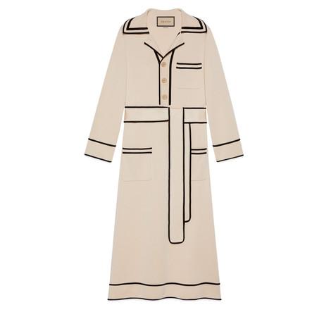 精纺棉毛混纺Polo裙