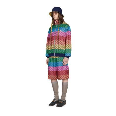 GG Multicolor系列针织夹克