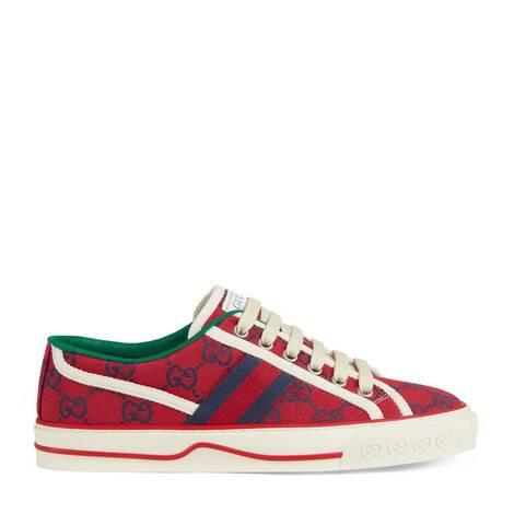 古驰520特别系列Gucci Tennis 1977女士运动鞋