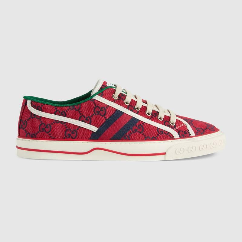 Gucci 古驰520特别系列 Tennis 1977系列男士运动鞋 In Red
