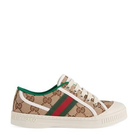 Gucci Tennis 1977系列儿童运动鞋