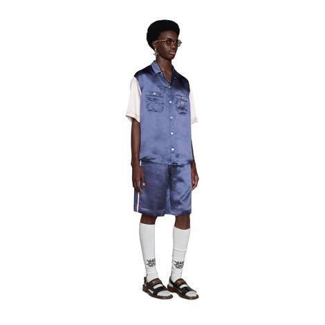 互扣式双G醋纤衬衫