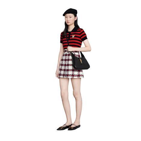 格纹花呢半身裙