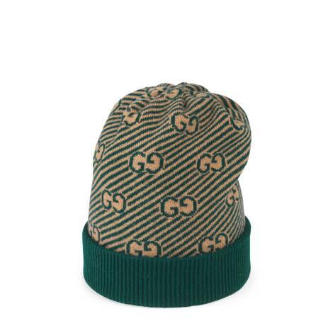 儿童GG斜纹羊毛帽