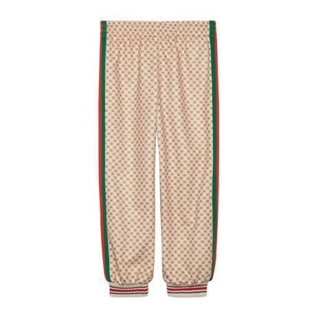 儿童平纹针织慢跑长裤